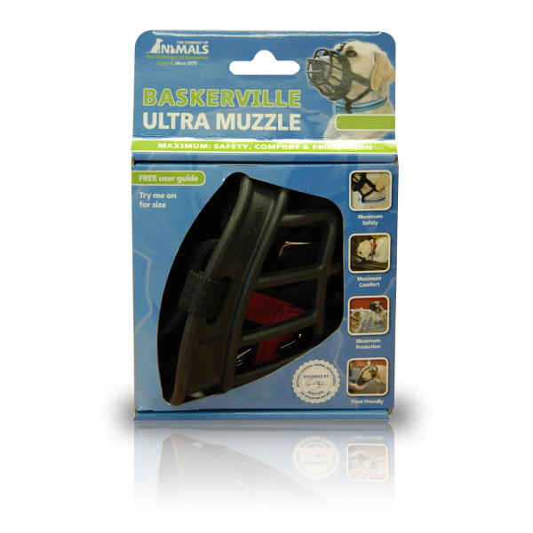 Picture of Company of Animals Baskerville Ultra Muzzle 1