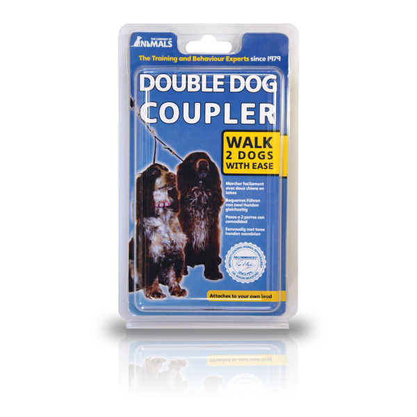 Picture of Company of Animals Double Dog Coupler Black Small