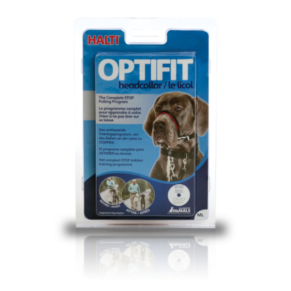 Picture of Company of Animals Halti Optifit Head Collar Black Large