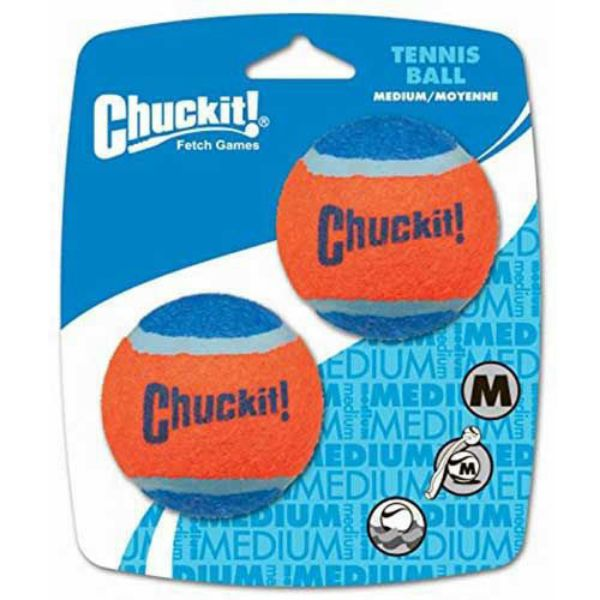 Picture of Chuckit Tennis Ball 2 Pack Medium