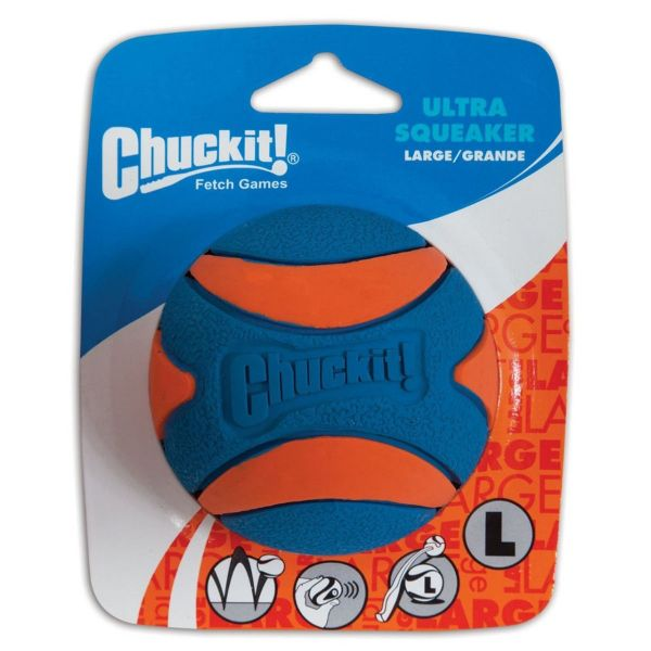 Picture of Chuckit Ultra Ball Squeaker 1 Pack Large