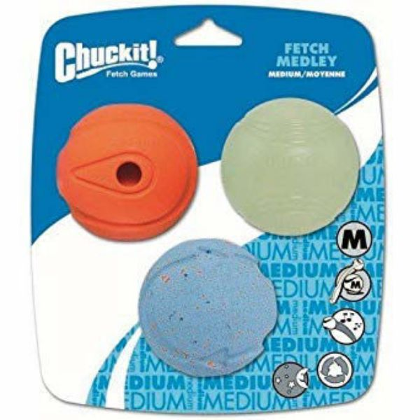 Picture of Chuckit Fetch Medley 3pk Medium