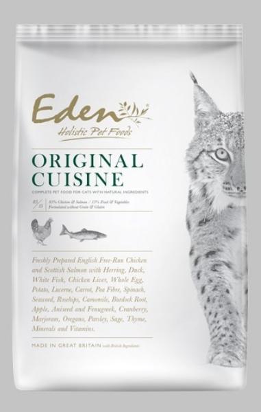 Picture of Eden Cat - 85/15 Original Cat Food 400g