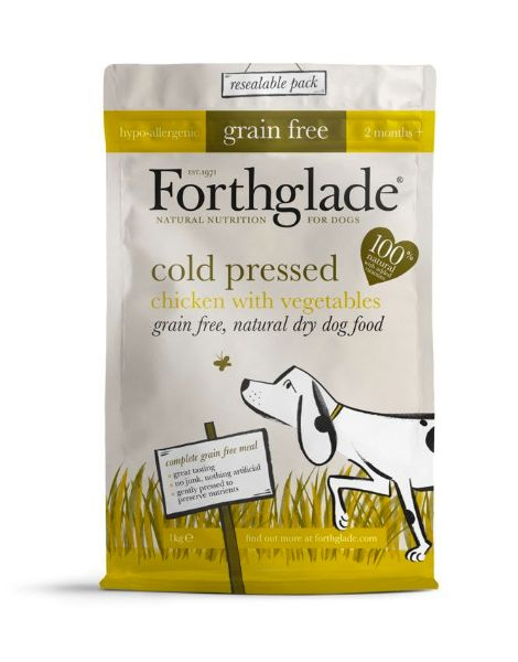 Picture of Forthglade Dog - Grain Free Cold Press Chicken 1kg