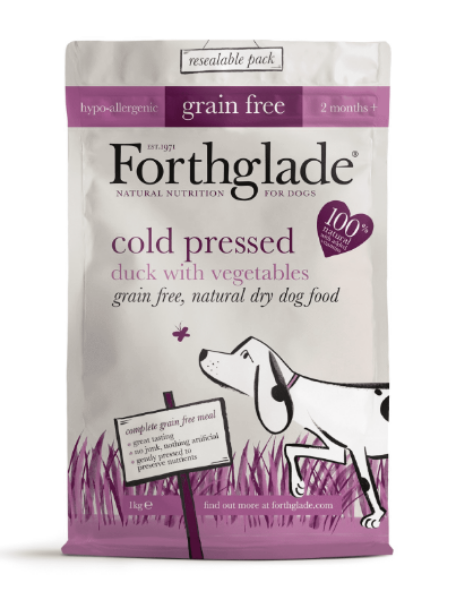 Picture of Forthglade Dog - Grain Free Cold Press Duck 1kg