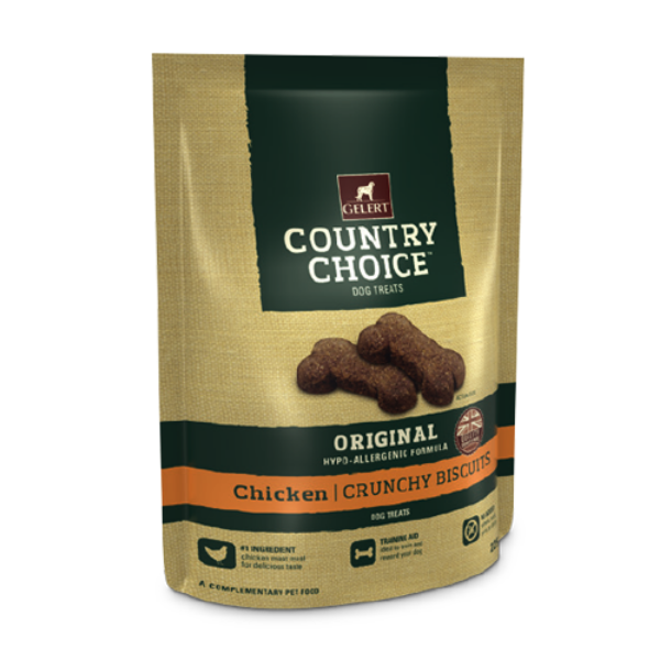 Picture of Gelert Country Choice Dog Treat Chicken 225g
