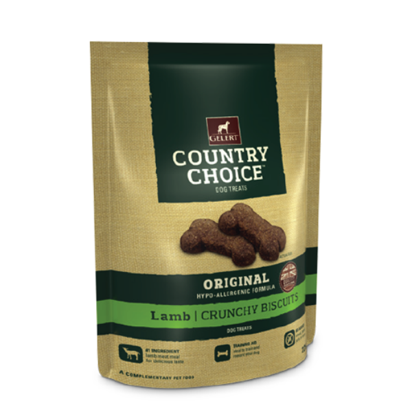 Picture of Gelert Country Choice Dog Treat Lamb 225g