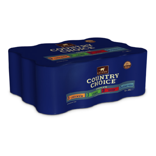 Picture of Gelert Country Choice Cat Tin 12x400g