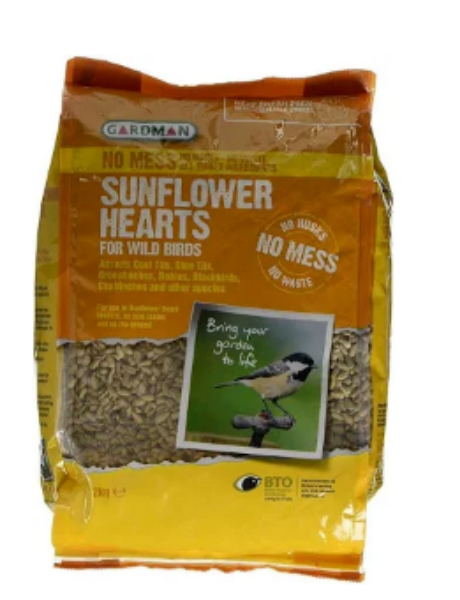 Picture of Gardman Sunflower Hearts 2kg