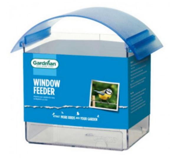 Picture of Gardman Window Feeder Seed Regular