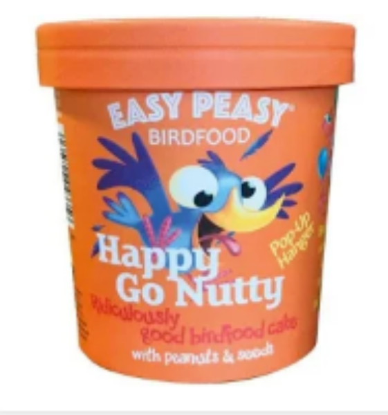 Picture of Easy Peasy Bird Food Happy Go Nutty 320g