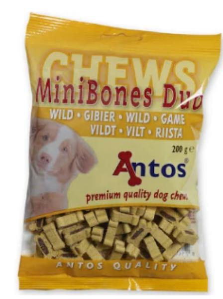 Picture of Antos Dog - Mini Bones Game 200g
