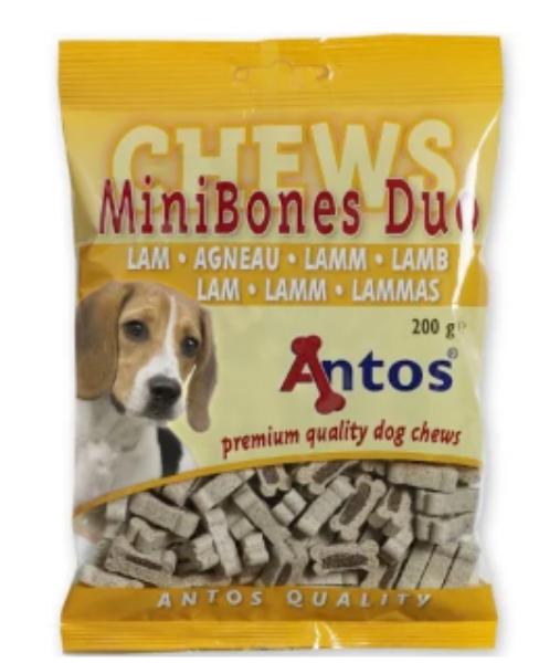 Picture of Antos Dog - Mini Bones Lamb 200g