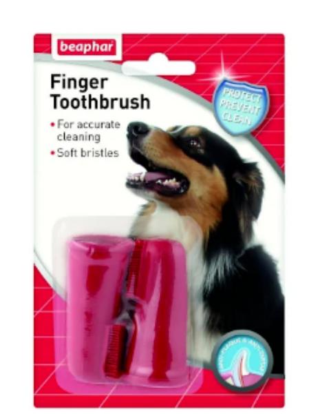 Picture of Beaphar Finger Toothbrush 2 Pack