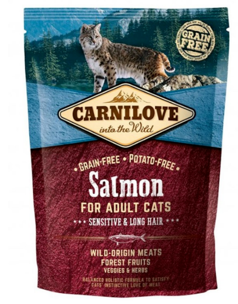 Picture of Carnilove Cat - Adult Sensitive Salmon 400g