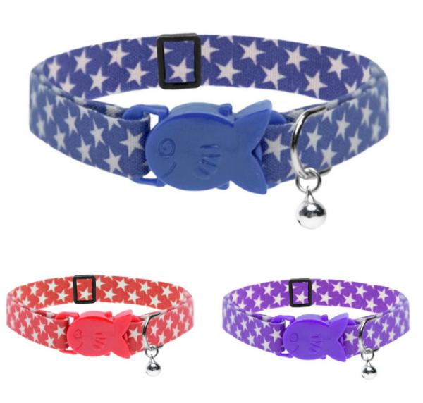 Picture of Cat Circus Cat Collar Star