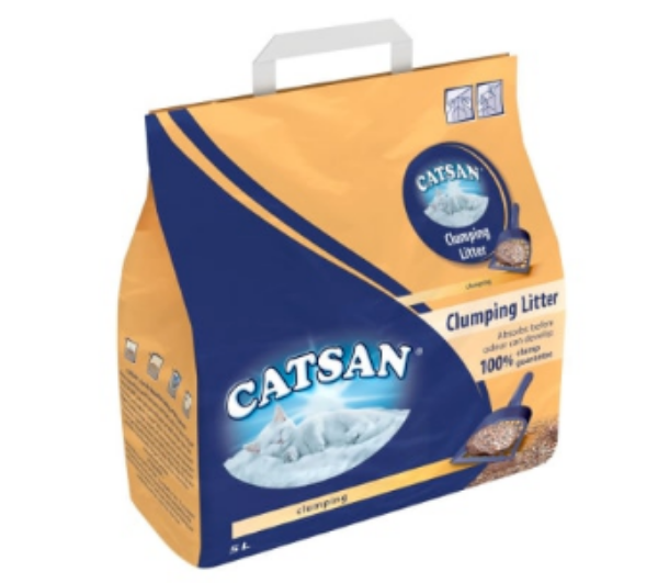 Picture of Catsan Cat Litter Clumping 5L