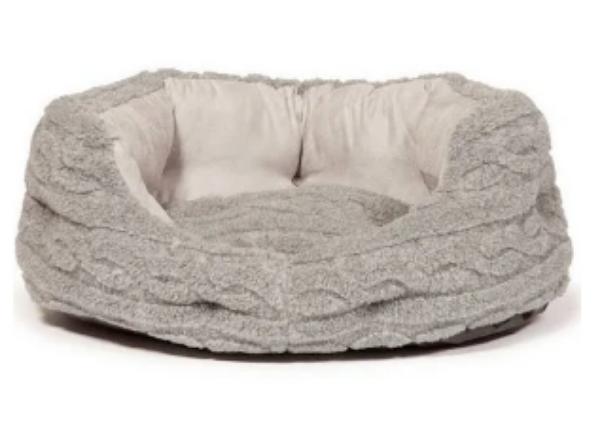 "Picture of Danish Design Slumber Bed Bobble Bobble Pewter 35"""