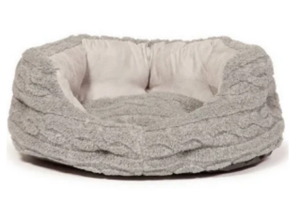 "Picture of Danish Design Slumber Bed Bobble Bobble Pewter 40"""