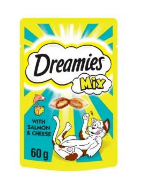 Picture of Dreamies Salmon / Cheese 60g