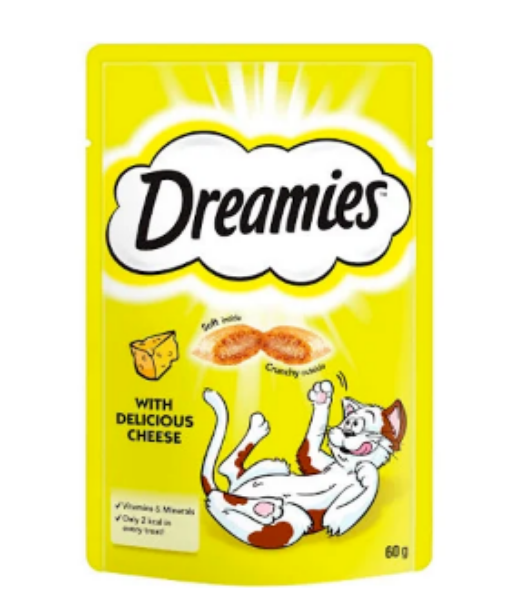 Picture of Dreamies Treat Cheese 60g