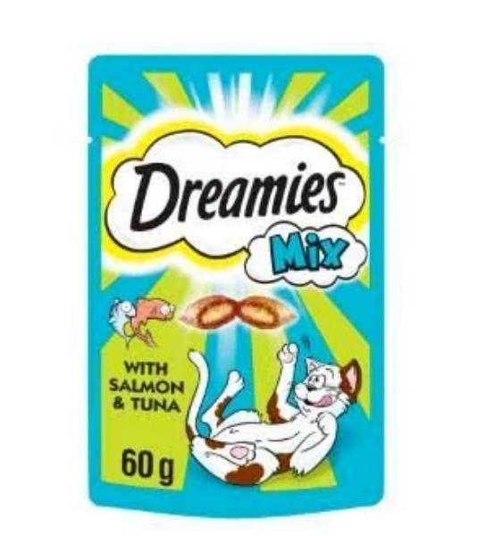 Picture of Dreamies Treat Salmon / Tuna 60g