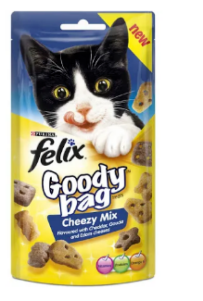 Picture of Felix Goody Bag Cheezy Mix 60g
