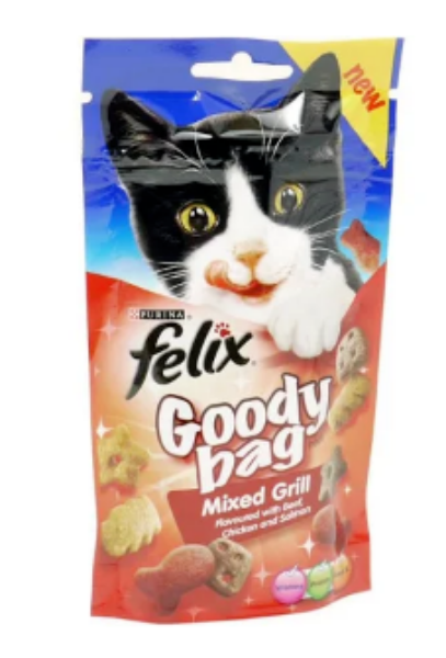 Picture of Felix Goody Bag Mixed Grill 60g