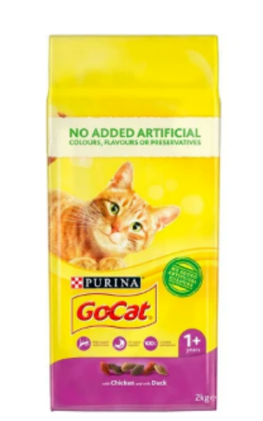 Picture of Go-Cat Adult Chicken / Duck 2kg