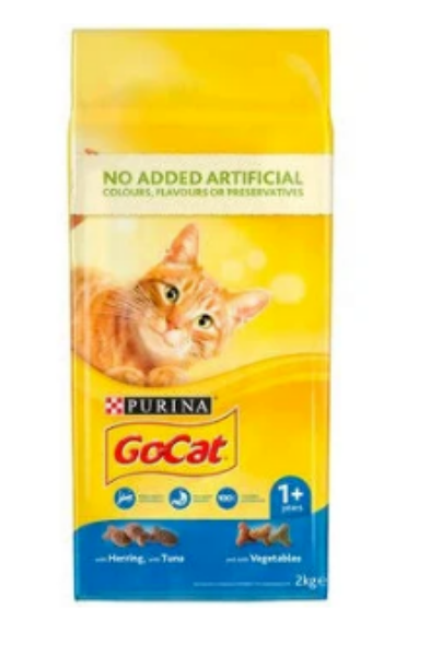 Picture of Go-Cat Adult Tuna / Herring / Veg 2kg