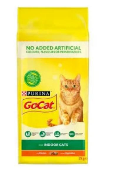 Picture of Go-Cat Indoor Chicken / Veg 2kg