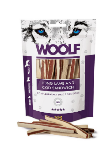 Picture of Woolf Long Lamb and Cod Sandwich