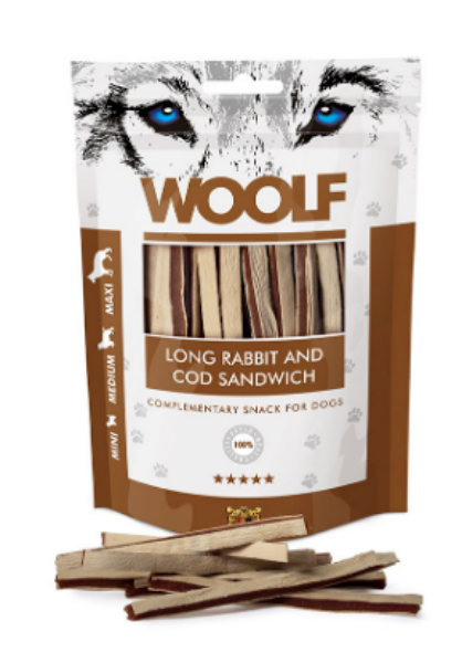 Picture of Woolf Long Rabbit And Cod Sandwich