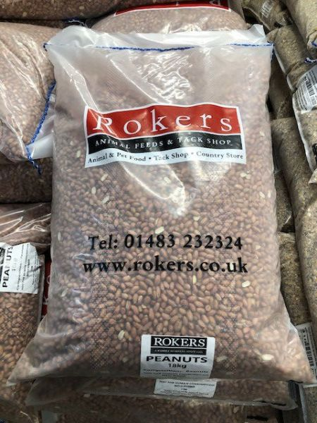 Picture of Rokers Peanuts 18kg