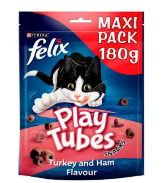 Picture of Felix Play Tubes Turkey & Ham 180g