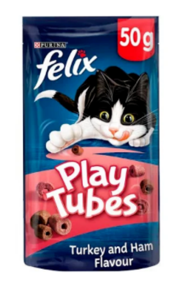 Picture of Felix Play Tubes Turkey & Ham 50g