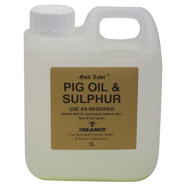 Picture of Gold Label Pig Oil & Sulphur 1L