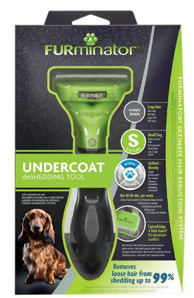 Picture of Furminator Deshedding Tool Long Hair Small Dog
