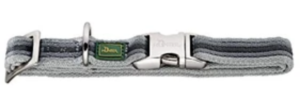 Picture of Hunter Collar Davao Alu-strong, Large Nylon Grey