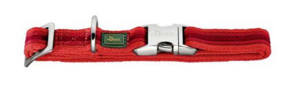 Picture of Hunter Collar Davao Alu-strong, Large Nylon Red