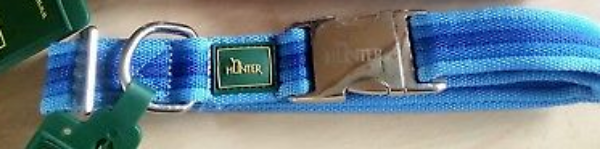 Picture of Hunter Collar Davao Alu-strong, Large Nylon Blue