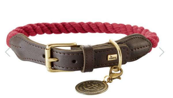 Picture of Hunter Collar List 50cm Rope Bordeaux