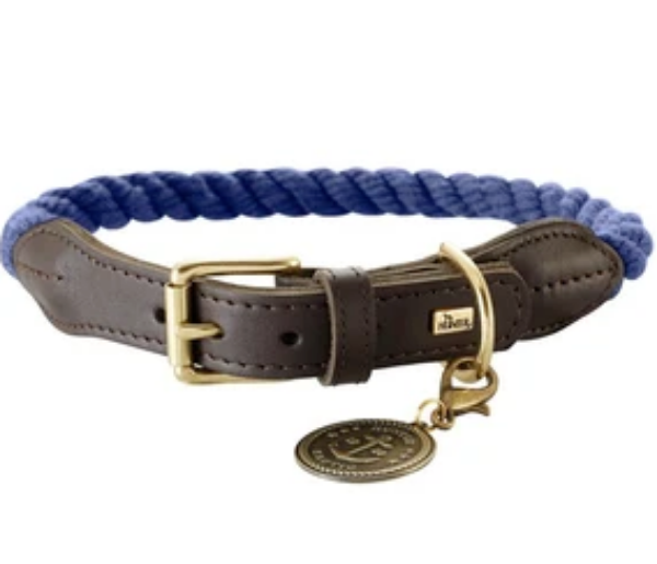 Picture of Hunter Collar List 60cm Rope Darkblue