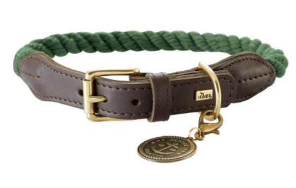 Picture of Hunter Collar List 60cm Rope Olive