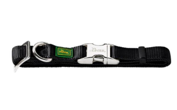 Picture of Hunter Collar Vario Basic Alu-strong 3/20 Nylon Black