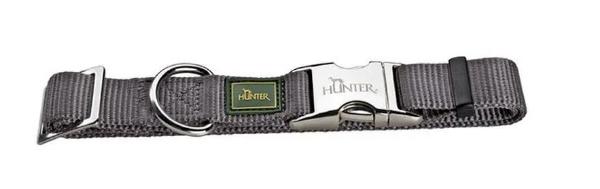 Picture of Hunter Collar Vario Basic Alu-strong Size S/15  Nylon Grey