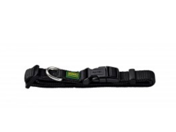 Picture of Hunter Collar Vario Basic Extra Wide Xs/15 Nylon Black