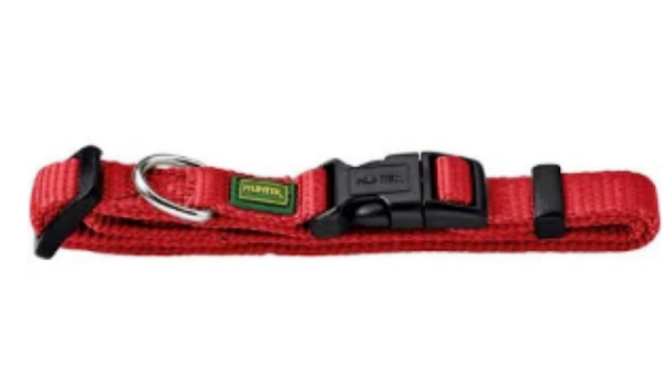Picture of Hunter Collar Vario Basic Extra Wide Xs/15 Nylon Red