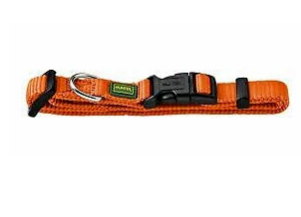 Picture of Hunter Collar Vario Basic Size Xs/10 22-35cm Nylon Orange