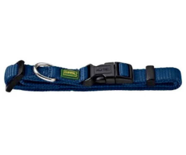 Picture of Hunter Collar Vario Basic Size Xs/10 Nylon Dark Blue